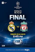 FINAL UEFA: REAL MADRID V/S LIVERPOOL