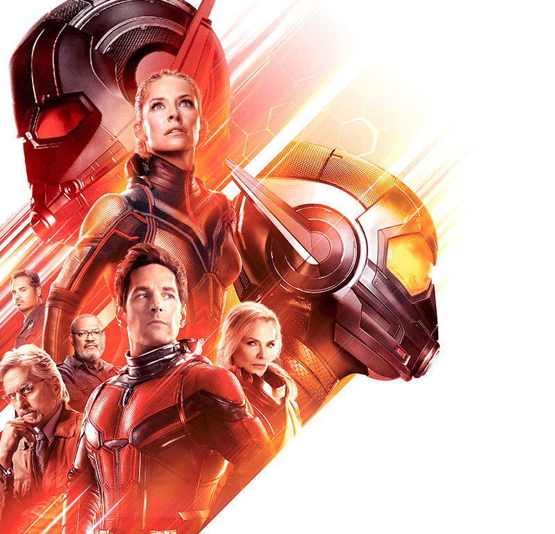 Personajes de Ant-Man and the Wasp