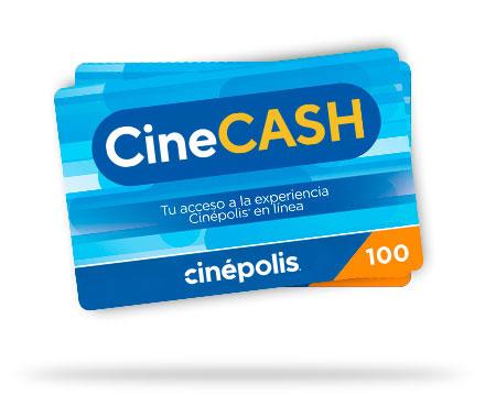 Tarjeta Cinecash Cinépolis