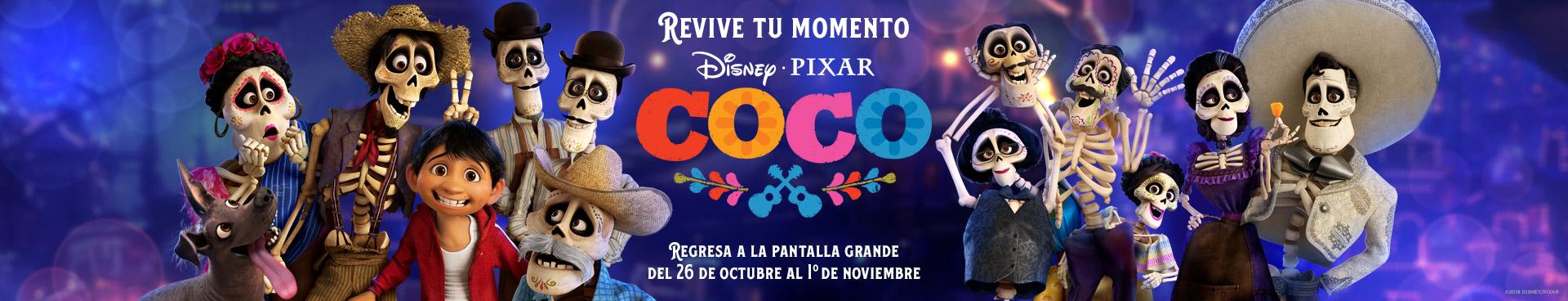Preventa: Re-estreno Coco