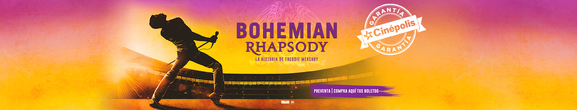 Preventa: Bohemian Rhapsody