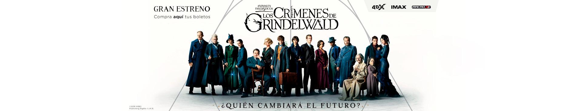 Estreno:Animales Fantásticos: Los Crímenes de Grindelwald
