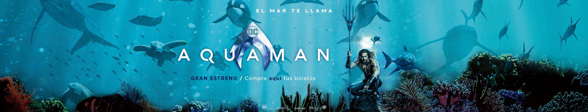 Gran Estreno: Aquaman