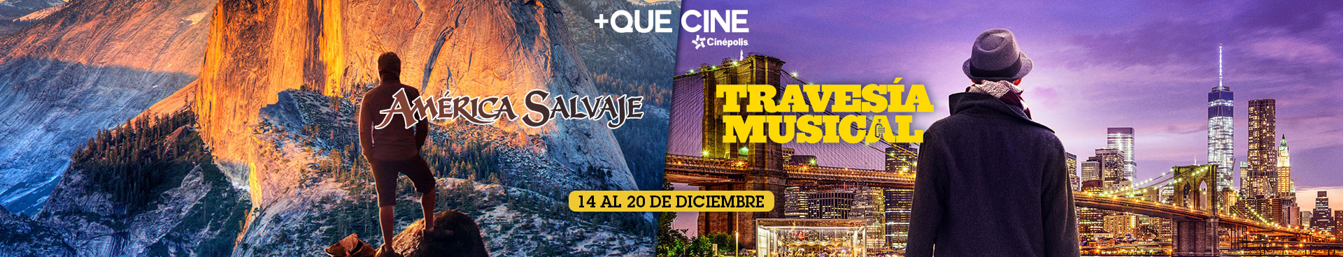 +Que Cine: Parques Nacionales y Travesía Musical