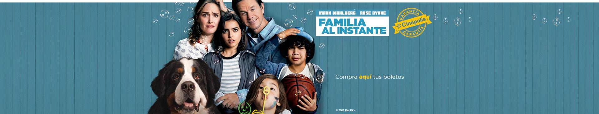En cartelera: Familia al instante