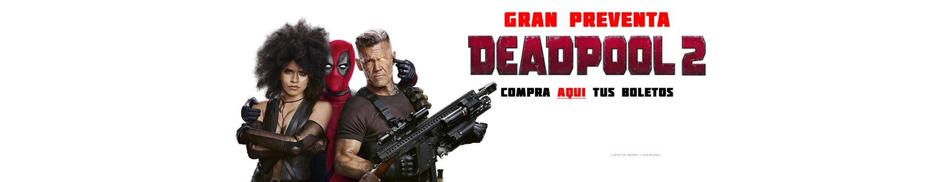 Preventa: Deadpool 2