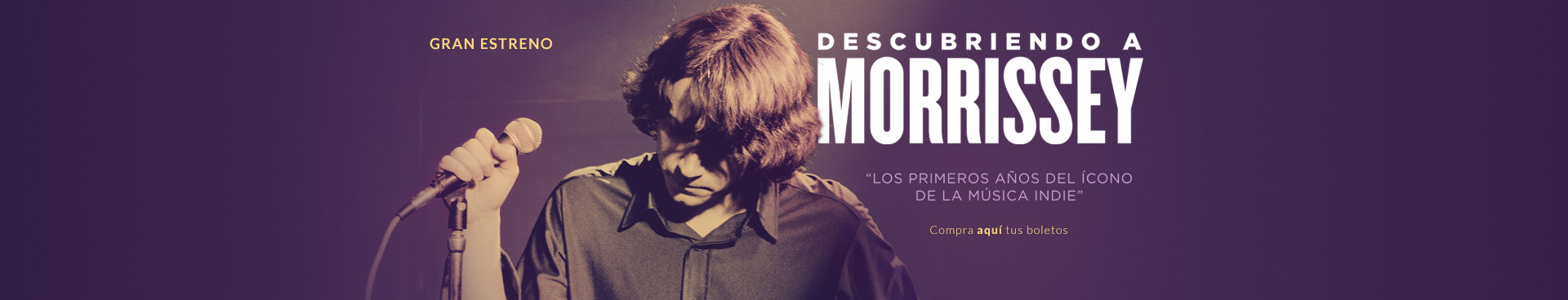 Gran estreno: Descubriendo a Morrissey