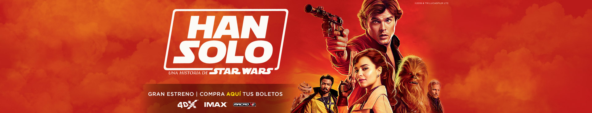 Gran estreno: Han Solo