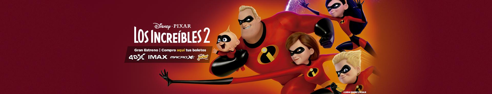 Gran estreno: Los Increíbles 2