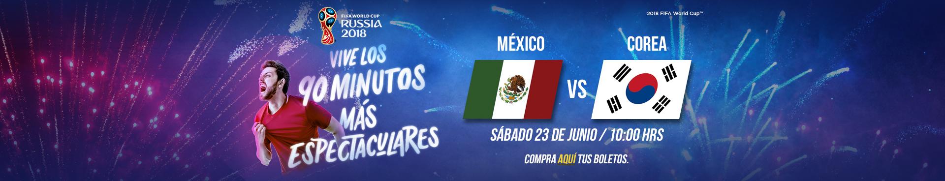 Mundial: México vs Corea