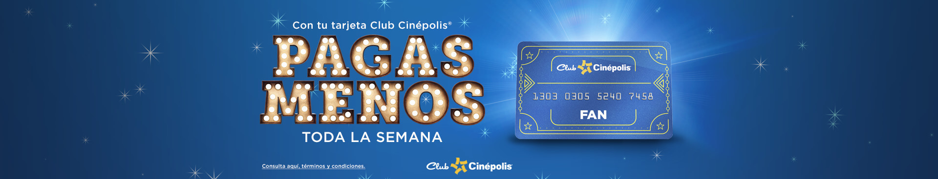 Paga menos Club Cinépolis