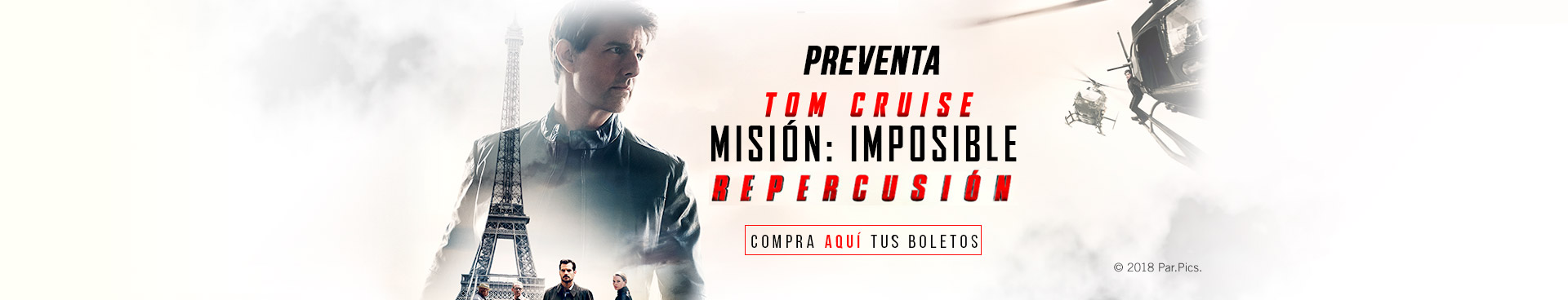 Preventa: Misión: Imposible Repercusión