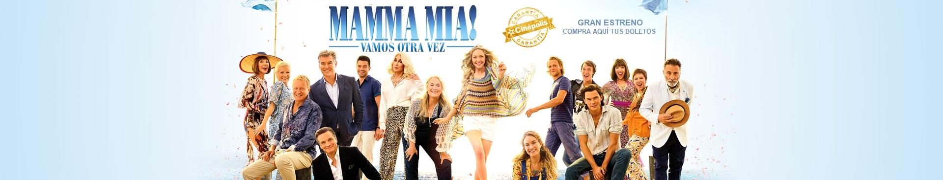 Gran estreno: Mamma Mia