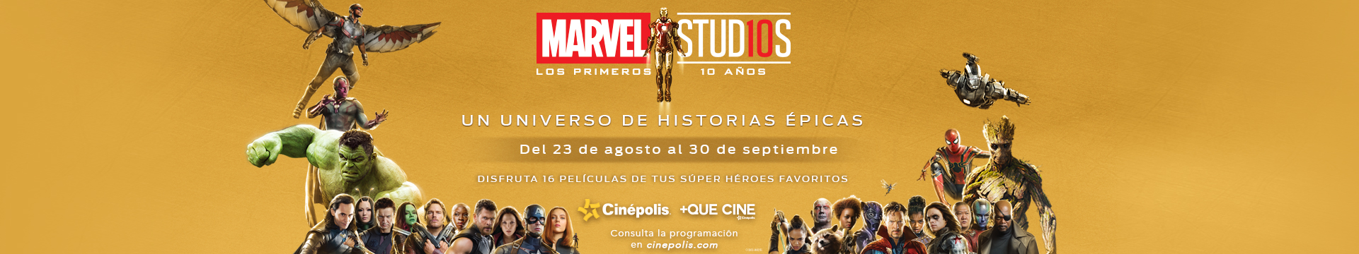 Marvel 10 años