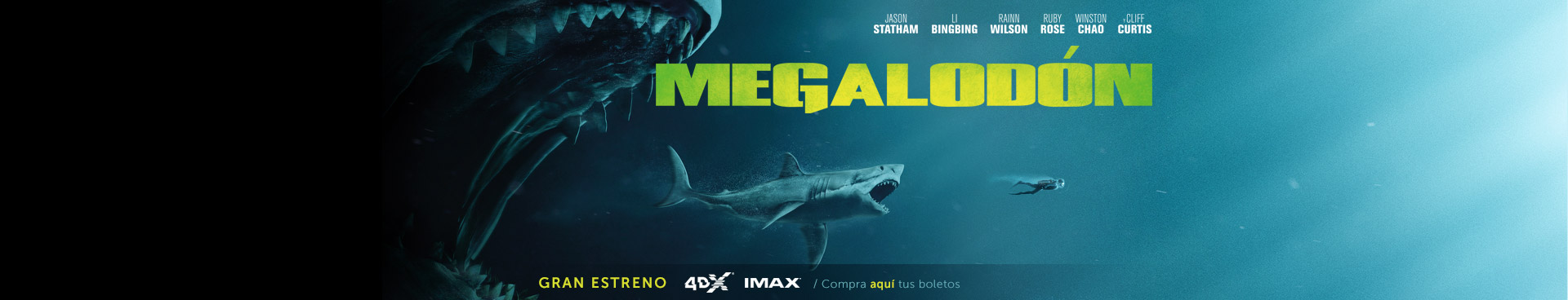 Gran estreno: Megalodón