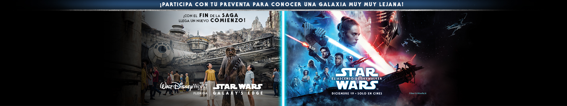Preventa Star Wars El Ascenso de Skywalker