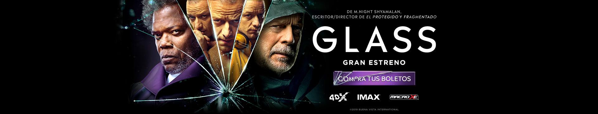Gran Estreno: Glass
