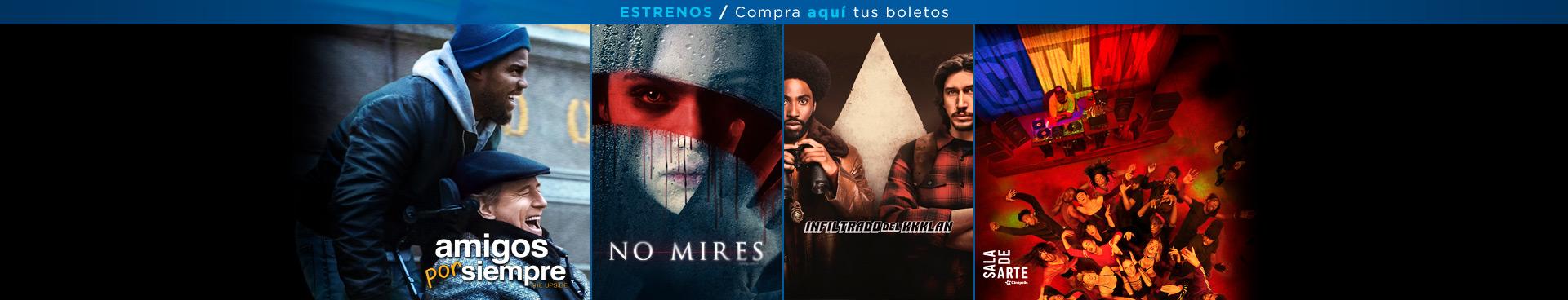 Estrenos: Amigos por siempre / No mires / El infiltrado del Kkklan / Climax