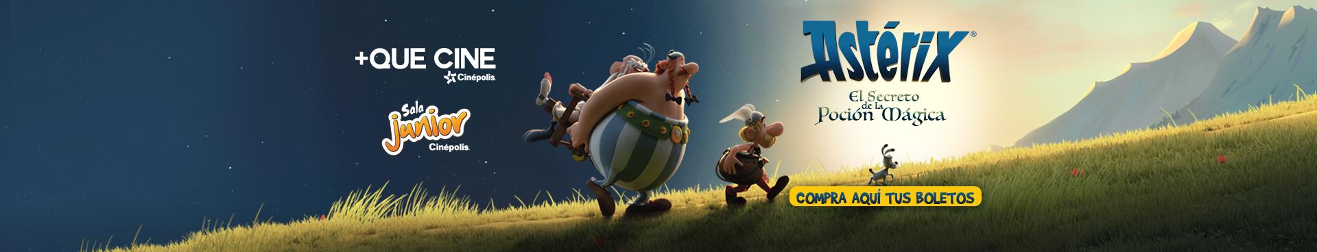 +Que Cine: Asterix