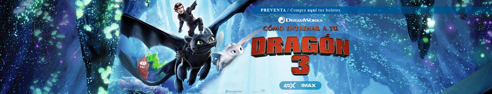 Preventas: Cómo entrenar a tu dragón