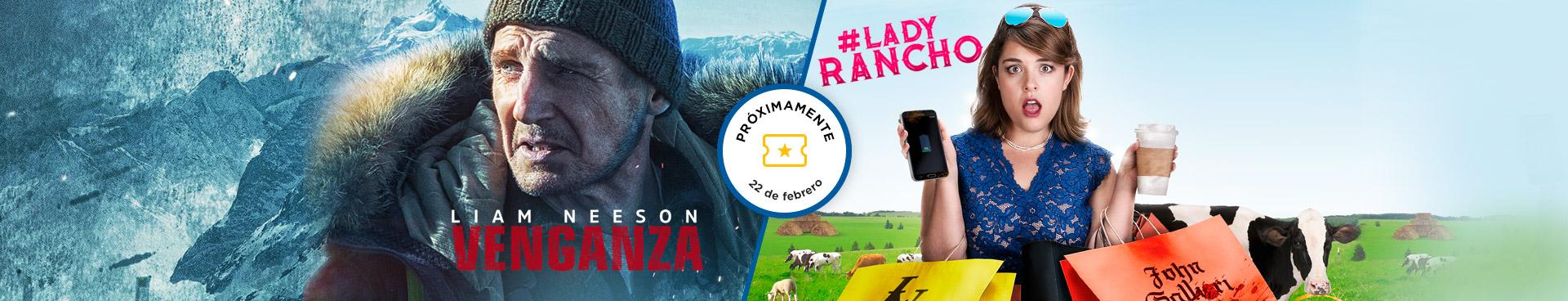 Próximamente: Venganza / Lady Rancho