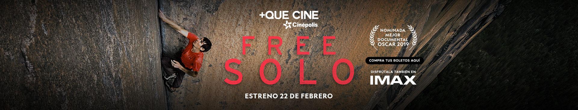 +Que Cine: Free Solo