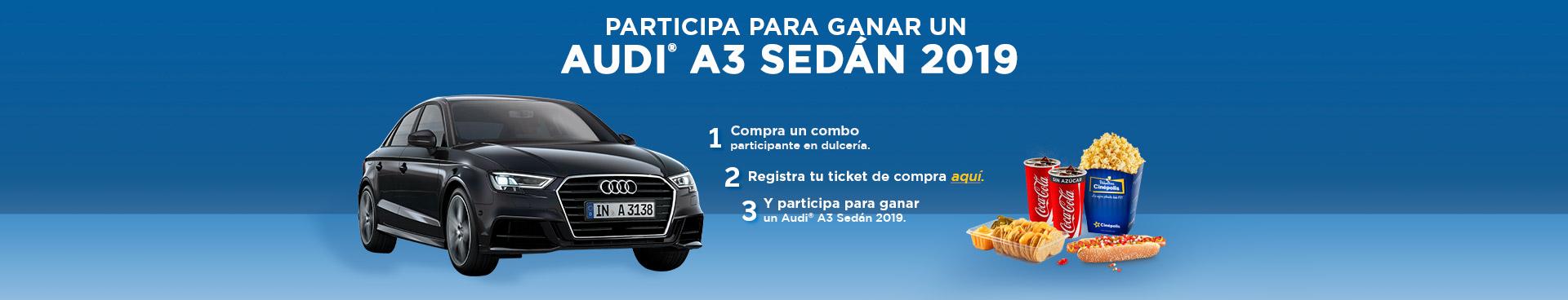 Promoción Combos Audi