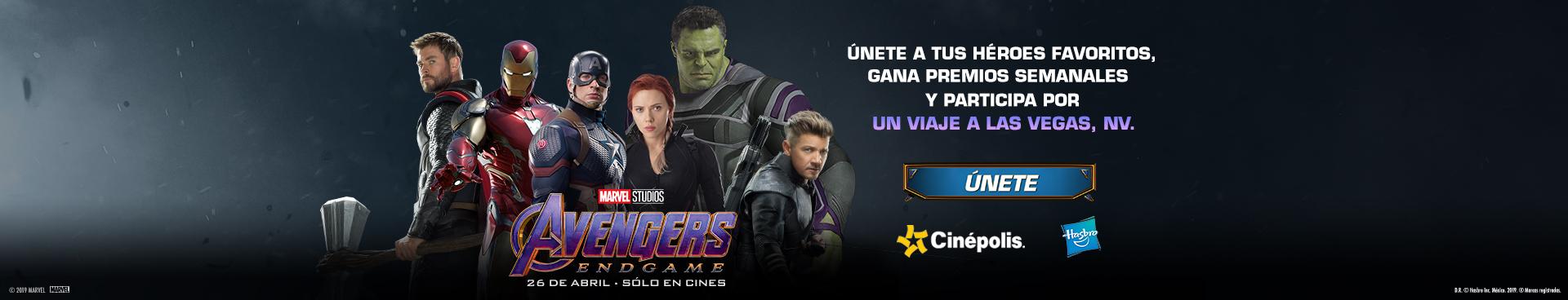 Promoción Avengers Hasbro
