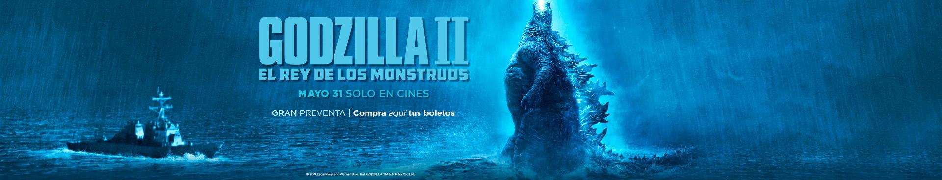 Preventa: Godzilla II: El Rey de los Monstruos