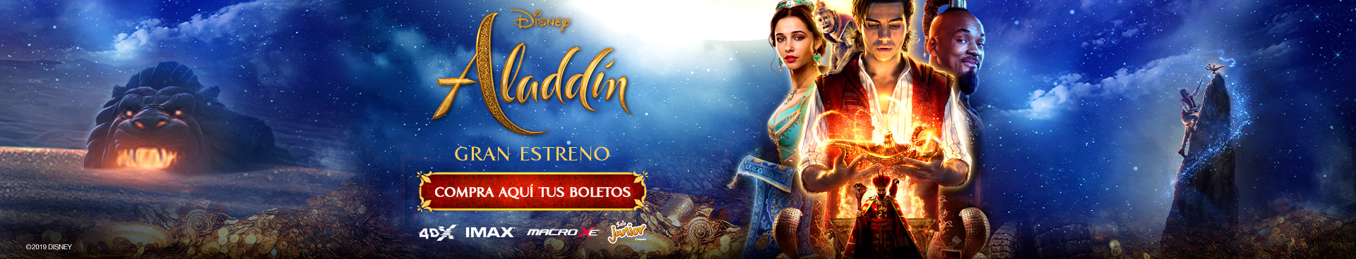 Gran estreno: Aladdín
