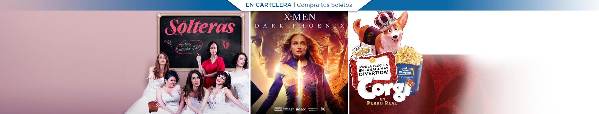 En Cartelera: Solteras / X-Men: Dark Phoenix / Corgi: Un Perro Real