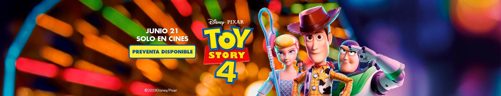 Preventa: Toy Story 4