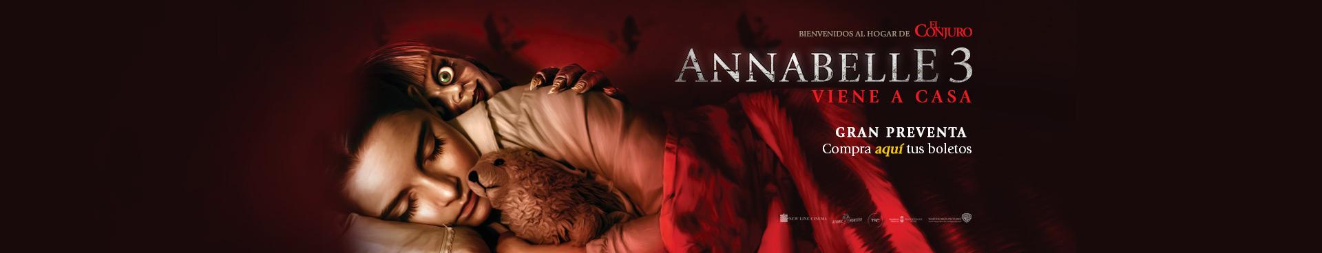 Preventa: Annabelle 3: Viene a Casa