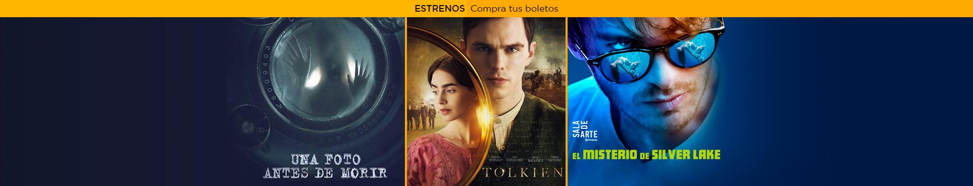 Estrenos: Una Foto antes de morir / Tolkien / El Misterio de Silver Lake