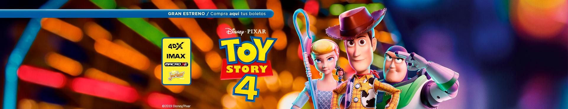 Gran estreno: Toy Story 4