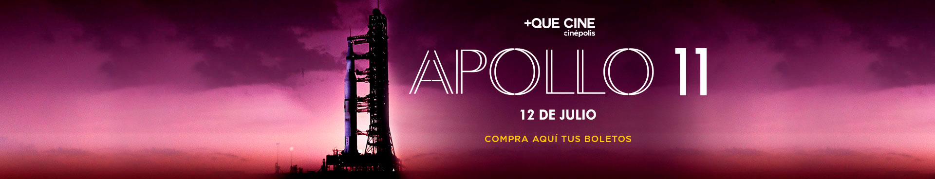 +Que Cine: Apollo 11