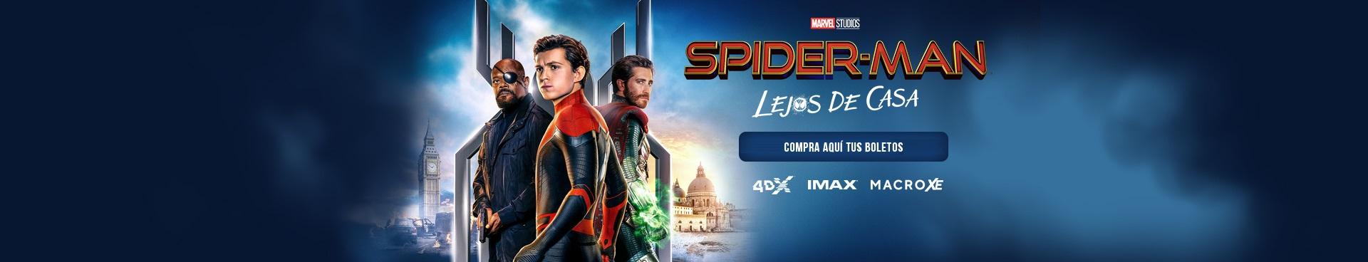 Gran estreno: Spider-Man: Lejos de Casa