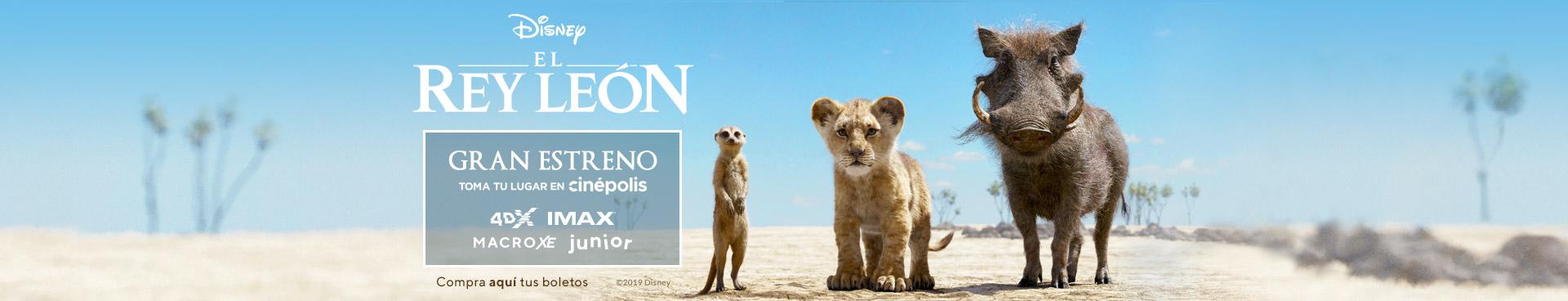 Gran estreno: El Rey León