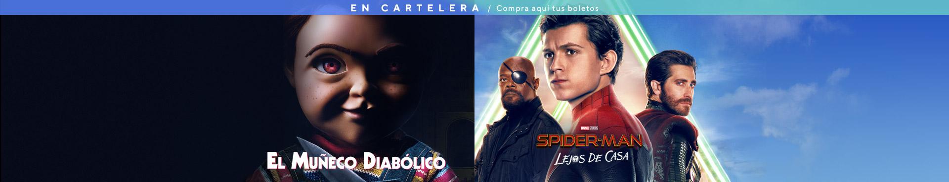 En Cartelera: El Muñeco Diabólico / Spider-Man: Lejos de Casa