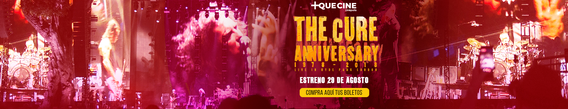 +Que Cine: The Cure