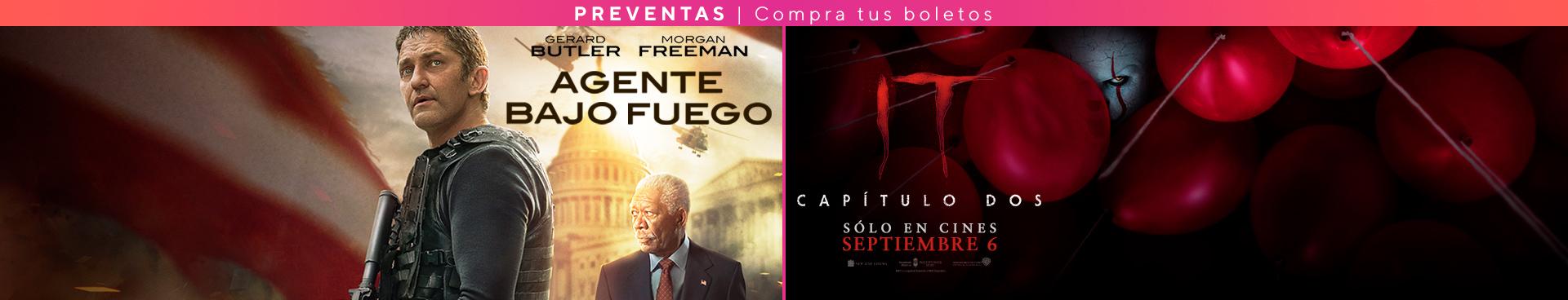 Preventa: Agente Bajo Fuego / IT