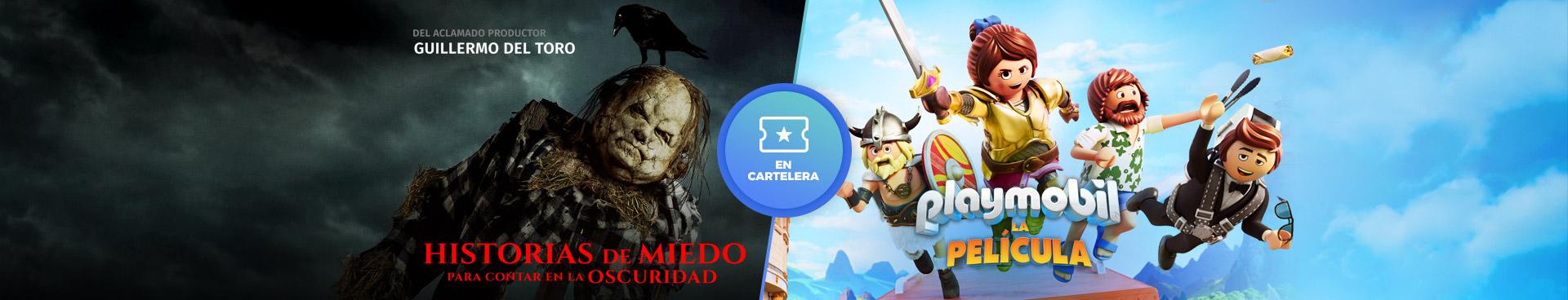 En cartelera: Playmobil / Historias de miedo