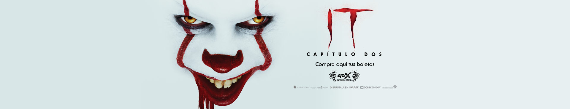 En cartelera: IT Capítulo 2