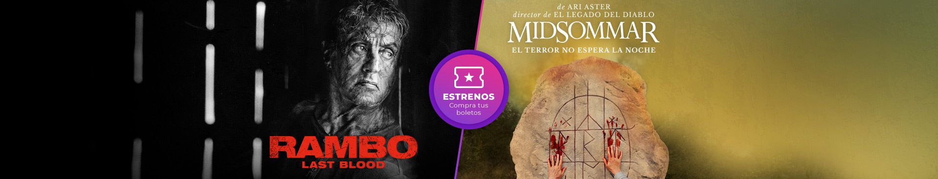 Estrenos: Rambo / Midsomar