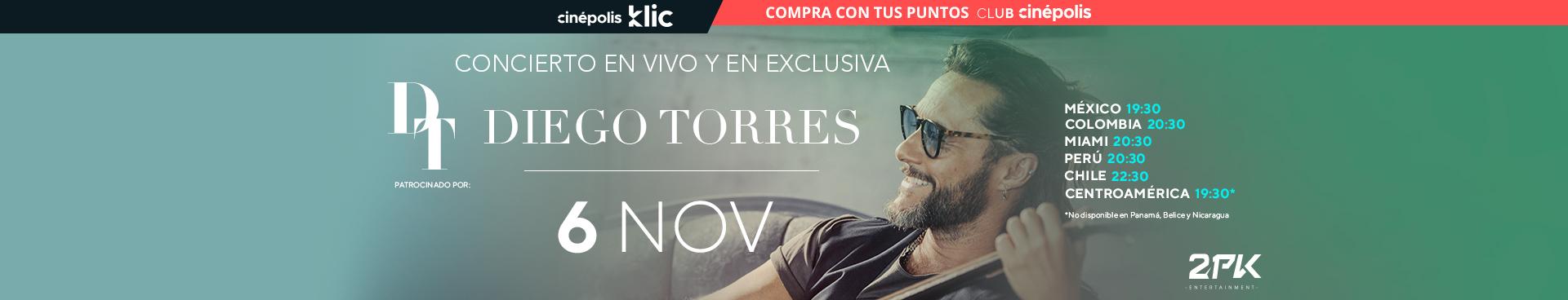 Klic Diego Torres