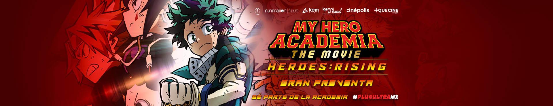 Preventa: My Hero Academia Heroes Rising