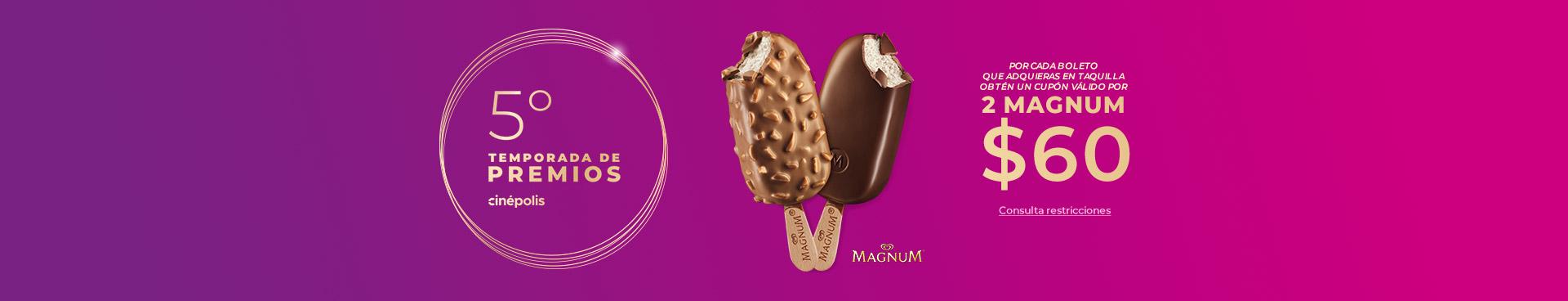 Premios 2 Magnum