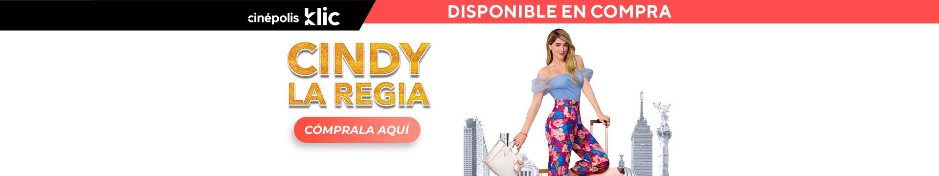 Klic Cindy la Regia