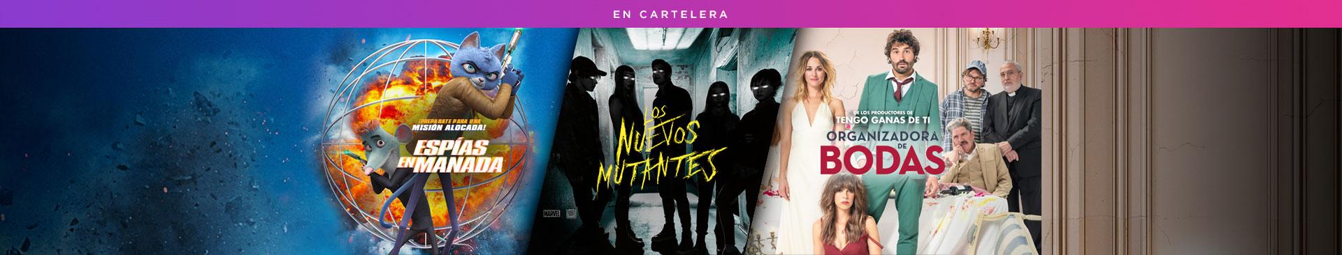 En Cartelera : Espías en Manada  Los Nuevos Mutantes Organizadora de bodas