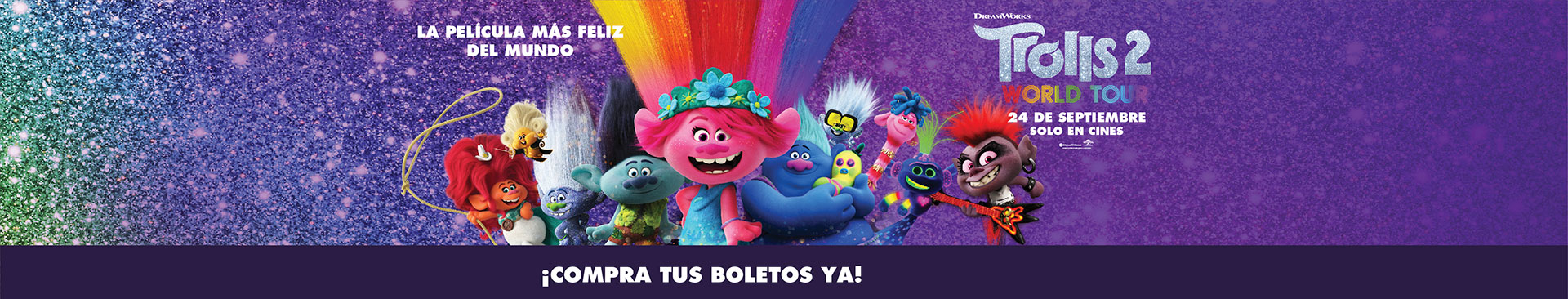 Estreno: Trolls 2 World Tour